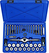 Irwin Tools 1841346 Performance Threading System Self-Aligning Tap and Die Set -Machine Screw/Fractional, 40-Piece
