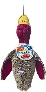 Hartz 5445 Quackers Plush Duck Dog Toy, Colors Vary
