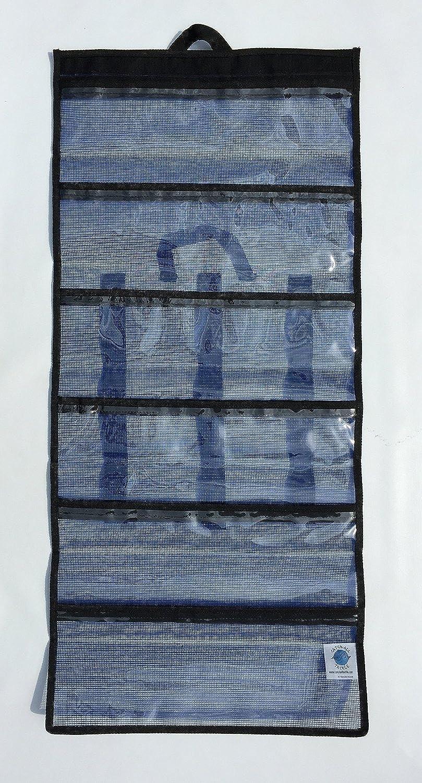 Nantucket Bound 6 Pocket Medium Big Game Roll Up Lure Bag 38cm