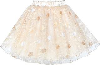 2e25d86b10ff7 Sunny Fashion Filles Jupe Rose 3 Couches Tutu Danse Ballet 4-10 Ans
