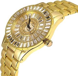 Amanda Luxury Crystal Quartz Lady Dress Watch (6266LM Gold)