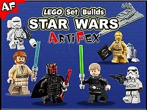Clip: Lego Set Builds Star Wars - Artifex