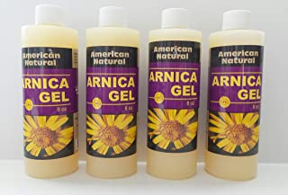 Arnica Montana Gel Cream Pain Relief Bruises Muscle Aches Natural Homeopatic 4 Pcs X 8 Oz