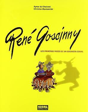 RENÉ GOSCINNY LOS PRIMEROS PASOS DE UN GUIONISTA GENIAL (CÓMIC EUROPEO) (Spanish Edition)