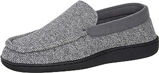 کفش های دمپایی مردانه Hanes کفش های مردانه Moccasin Comfort Memory Foam Indoor Outdoor IQ تازه تازه