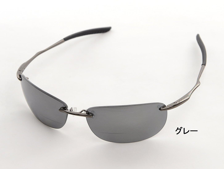成人期悪意のある速報ZE-SX III ファッション偏光シニアサングラス グレー偏光レンズ +1.50