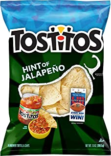 Tostitos Hint of Jalapeño Flavored Restaurant Style Tortilla Chips, 13 Ounce