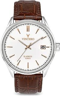 Vincero Luxury Men's Kairos Wrist Watch - 42mm Analog Watch - Japanese Quartz Movement…