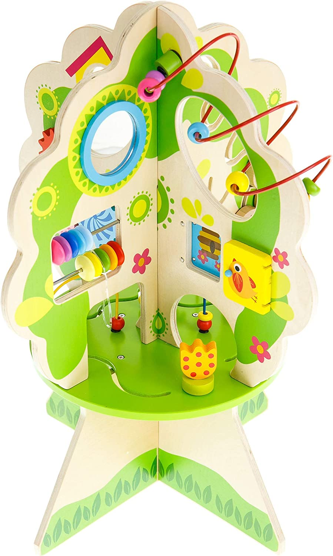 Venta al por mayor barato y de alta calidad. Tooky Juguetes TKC561 - árbol de Actividades de de de Madera  100% autentico