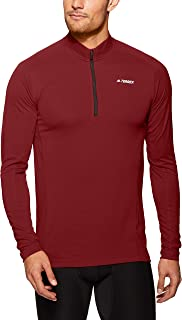 adidas Men's Trace Rocker 1/2 Long Sleeve T-Shirt