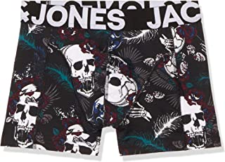 JACK & JONES Erkek Boxer Şort JACSKULL TRUNK TRY 12165053