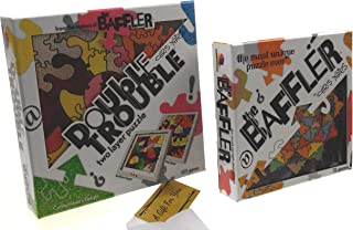 Brainwright The Baffler Jigsaw Puzzle Set 2 Bundle - Bindu Truss & Double Trouble Confectioner's Delight