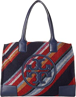Ella Fabric Stripe Mini Tote
