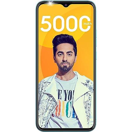 "Tecno Spark Go 2021 (Maldives Blue, 2GB RAM, 32GB Storage) | 5000mAh| 6.52"" Display Smartphone"