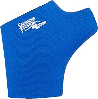 Rolyan Neoprene Pull On Thumb Support for Left Thumb, Thumb Compression Sleeve for Maximum Hand Function, Easy On Easy Off Brace Support for Thumb Sprains and Strains from Sports Injuries, Size Large