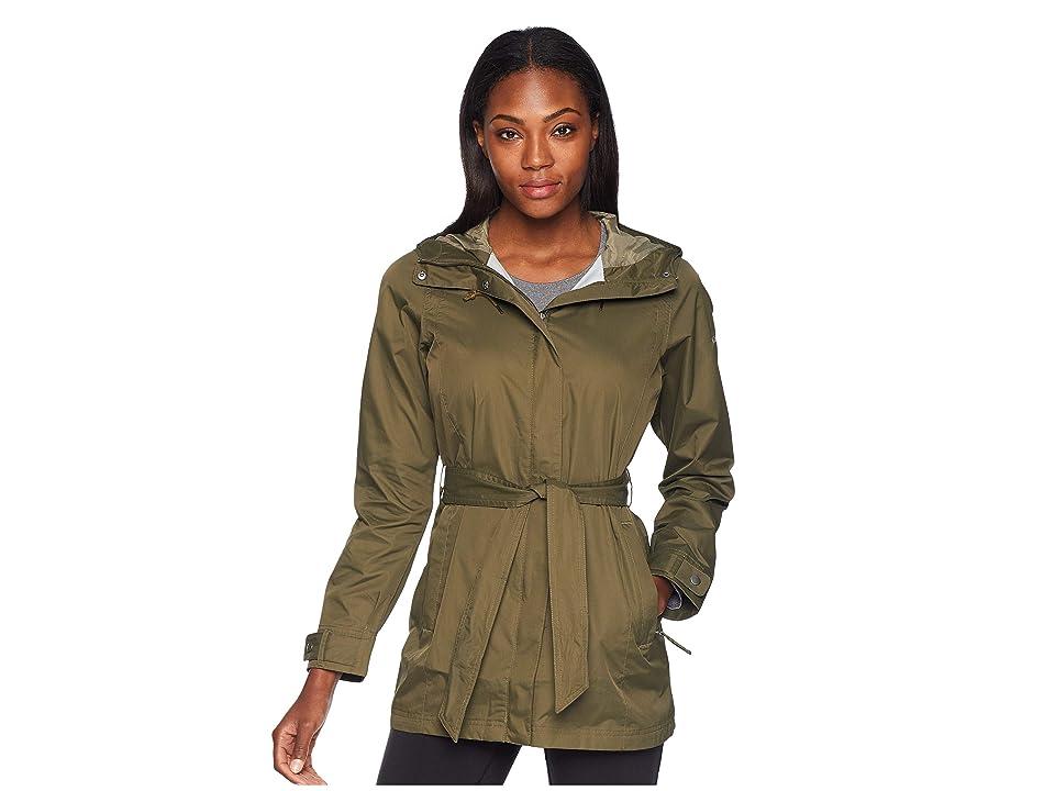 Columbia Pardon My Trenchtm Rain Jacket (Nori/Sage) Women