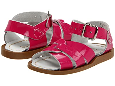 Salt Water Sandal by Hoy Shoes The Original Sandal (Infant/Toddler) (Shiny Fuchsia) Girls Shoes