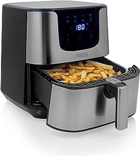 Friteuse sans huile XXL Princess Deluxe - Pour 9 personnes - Panneau de contrôle numérique - 5,5 L - 1 700 W