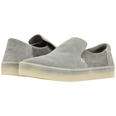TOMS Lomas (Neutral Gray/Shade Suede) Men