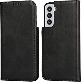iCoverCase for Samsung Galaxy S21 Plus Wallet Case with Card Slots Holder Carry Premium PU Magnetic Leather Kickstand Feat...