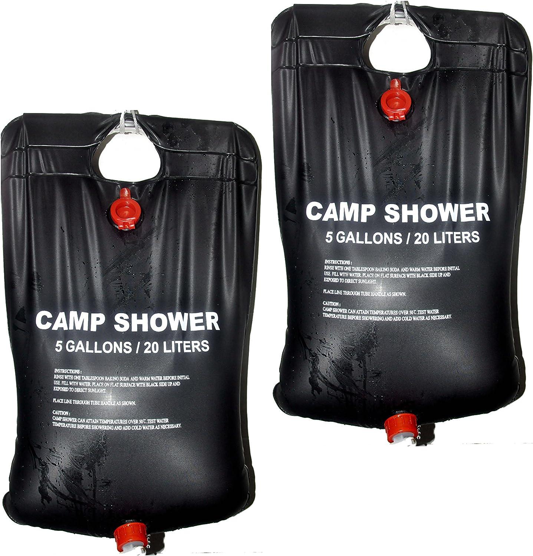 Bolsa de ducha solar, energía solar climatizada ducha de surf, camping