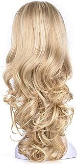 blonde 3/4 wig