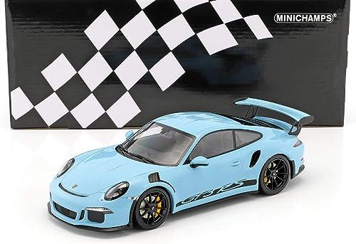 Minichamps Porsche 911 991 3  2015 to Miniatur-Collection, 153066234, blau