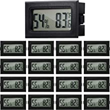 Mini Hygrometer Thermometer Digital Fahrenheit Temperature Humidity Meter Gauge LCD Display Indoor Thermometer Hygrometer ...