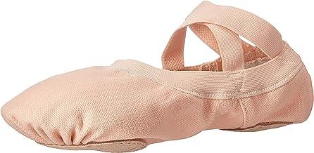 Bloch Dance Women's Pro Elastic Split Sole Canvas Ballet Slipper/Shoe
