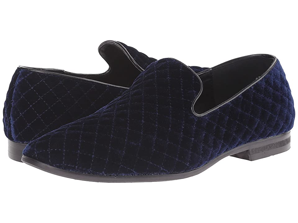 1940s Mens Shoes | Gangster, Spectator, Black and White Shoes Giorgio Brutini Chatwal Navy Mens Shoes $65.00 AT vintagedancer.com