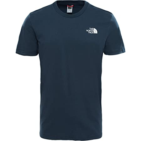 The North Face Men's M S/S Simple Dome Te Blue Wing Teal Tee