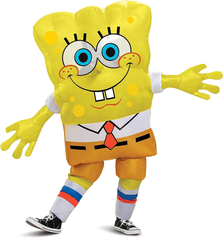 Kids Inflatable Max 54% OFF Spongebob Squarepants Costume Direct stock discount