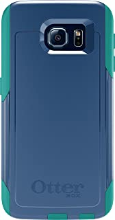 OtterBox Commuter Series for Samsung Galaxy S6 - Non-Retail Packaging - Royal Blue/Light Teal Blue