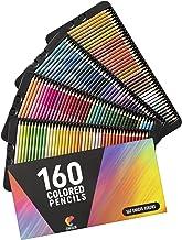 160 Zenacolor färgpennor (numrerad) – enkel förvaring – professionell uppsättning färgpennor för vuxna – perfekt för vuxna...