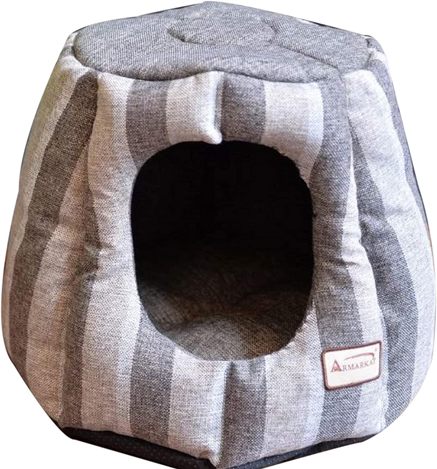 Dome Pet Bed. Cat Dome Pet Bed Waterproof Skid Free Base