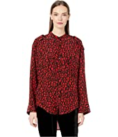 The Kooples - Leopard Print Top