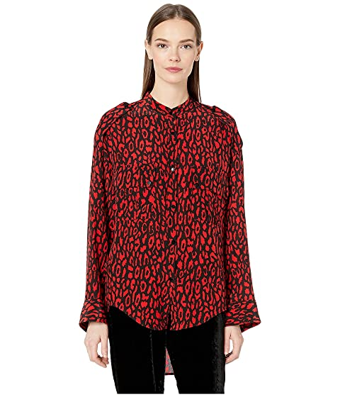 The Kooples Leopard Print Top