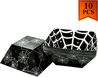 Halloween Dishes Cardboard Candy Serving Bowl Halloween Party Supplies