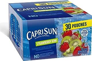 Capri Sun Juice Drink, Strawberry Kiwi, 30 Count (Pack of 4)