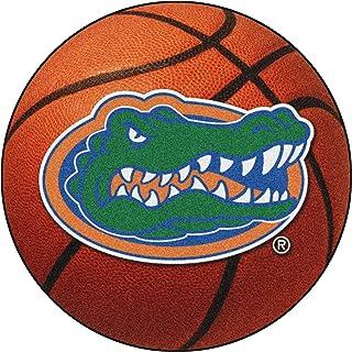 FANMATS NCAA University of Florida Gators Nylon Face Basketball Rug