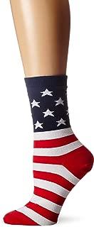 K. Bell Socks Women's Original Collection Novelty Casual Crew Socks