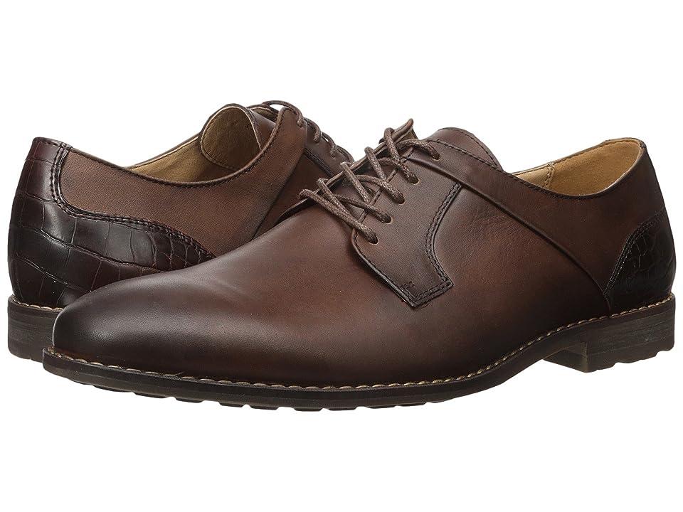 Steve Madden Kojaxx (Brown Leather) Men