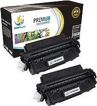 Catch suministros C4096A negro cartuchos de tóner de repuesto para la serie HP 96A  5,000yield  Compatible con la serie de impresoras HP LaserJet 2000, 2100, y 2200, color negro 2 unidades