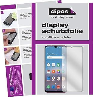 dipos I 2 x skyddsfolie klart kompatibel med Meizu Note 9 folie skärmskydd