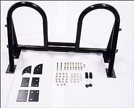 OBX Racing Sports Roll Bar Black Mazda Miata MX5 NA NB Chassis Double Loop Side Brace Black Includes welded harness tab