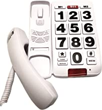 $38 » Future Call FC-8888 Big Button Telephone, Amplified handset up to 40db, Very Helpful Phone for Hearing, Vision, and Dement...