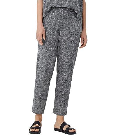Eileen Fisher Petite Tapered Ankle Pants in Organic Cotton Hemp Melange