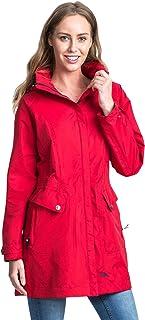 Trespass Rainyday Chaqueta impermeable con capucha oculta. Mujer