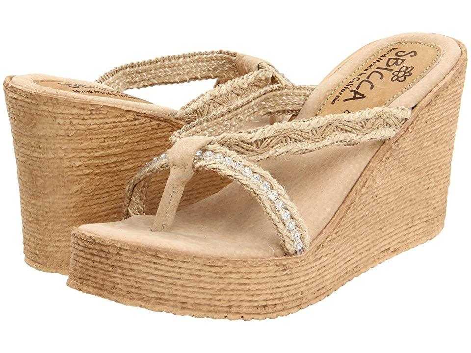 6a4437955ddd Sbicca Jewel (Natural) Women s Wedge Shoes
