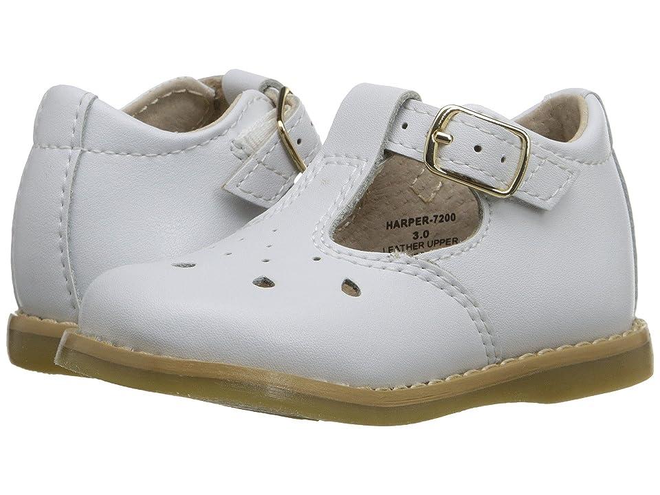 FootMates Harper (Infant/Toddler) (White) Girls Shoes